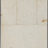 Autograph note unsigned to Lord Byron, ?January-?March 1818