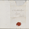 Autograph letter signed to Lord Byron, 3 January 1818