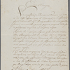 Letter signed to Lord Byron, 11 April 1818