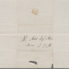 Autograph letter signed to Lord Byron, 22 September 1818