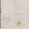 Autograph letter signed to Lord Byron, 28 October 1818