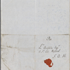 Autograph letter signed to Lord Byron, 7 December 1818