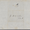 Autograph letter signed to Lord Byron, 26 January 1819