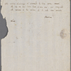 Autograph letter signed to Lord Byron, ?after 3 April 1819