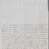 Autograph letter signed to Lord Byron, 18 May 1819