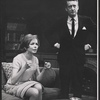 Diana Lynn and Tom Poston in the stage production Mary, Mary