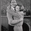 Tom Poston and Diana Lynn in the stage production Mary, Mary