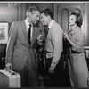 Edward Mulhare, Tom Poston and Diana Lynn in the stage production Mary, Mary