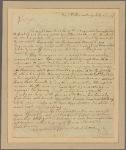 Letter to Gov. [Horatio] Sharpe