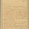 Letter to Col. Landon Carter