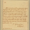 Letter to the Governor of Pennsylvania [George Thomas]