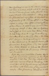Letter to [the Governor of Massachusetts, William Shirley.]