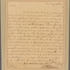 Letter to Gov. [Horatio] Sharpe
