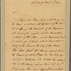 Letter to William Byrd