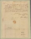 Letter to Brig. Gen. [Edward] Hand, Fort Pitt