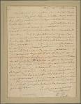 Letter to [Robert Carter,] Westmoreland