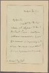 Letter to Henry S[tephens] Randall