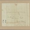Letter to Maj. Gen. [Benjamin] Lincoln, Charles Town