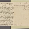 Letter to Gen. [Benjamin] Lincoln