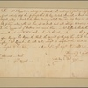 Letter to Col. [Henry] Laurens