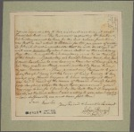 Letter to [Horatio Gates.]