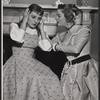 Olga Bielinska and Uta Hagen in the 1956 stage production A Month in the Country