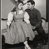 Olga Bielinska and Al Hedison in the 1956 stage production A Month in the Country