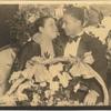 """Ada """"Bricktop"""" Smith and her husband Peter Duconge in Paris."""