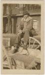 Langston Hughes as a student at Lincoln University, Pennsylvania