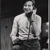 Walter Matthau in the stage production The Odd Couple