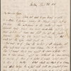 Autograph letter signed to Lord Byron, 22 April 1818