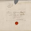 Autograph letter signed to Thomas Jefferson Hogg, 25 April 1818
