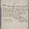 Autograph letter signed to Brooks, Son & Dixon, 31 July 1818