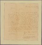 Letter to [Ashbel] Green, Princeton