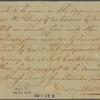 Letter to Capt. Abraham Lewis of Lady Washington Galley