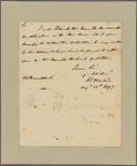 Letter to -- Braddock