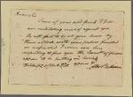 Letter to George Jones
