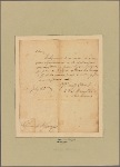 Letter to Gen. [Henry] Knox