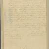 Letter to the commanding officer of the American troops at Beaufort [Gen. Moultrie]