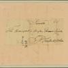 Letter to Maj. Gen. [Benjamin] Lincoln, Philadelphia