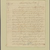 Letter to Gen. [Benjamin] Lincoln