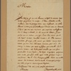 Letter to Col. John Laurence [Laurens]