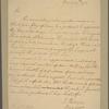 Letter to Brig. Gen. [Isaac] Huger