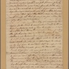 Letter to Henry Laurens, Charles Town