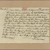 Letter to Maj. Gen. [Benjamin] Lincoln