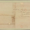 Letter to Henry Laurens President of Congress, York Town, Pensilvania