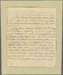 Letter to [Henry] Laurens, formerly president of Congress, Charlestown