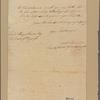 Letter to Henry Laurens, President of Congress