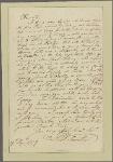 Letter to Henry Laurens