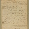 Letter to Gov. [John] Rutledge, and Maj. Gen. [Benjamin] Lincoln, Charlestown